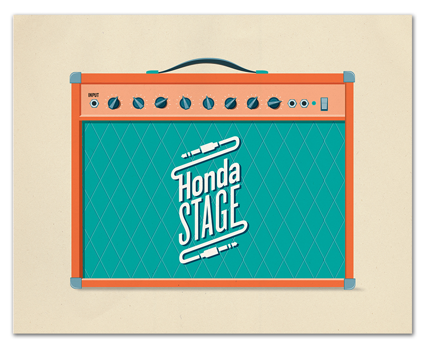 Honda Stage Poster Designs